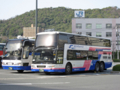 [中国JRバス][西日本JRバス]【島根200か・207】左・【なにわ200か・334】右