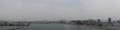 広島高速3号線 出島=吉島 橋の上から宇品橋方面を望む