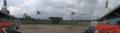 [旧広島市民球場]内野スタンドからスコアボードを望む
