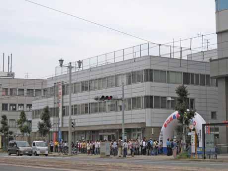 広島電鉄 電車カンパニー 電車棟
