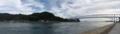 上蒲刈島向地区と蒲刈大橋を望む