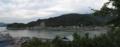 蘭島閣美術館別館前から対岸を見る