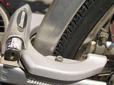 壊れたハードリング錠