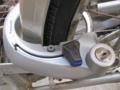 [自転車]取り付けた「ハードリング錠」