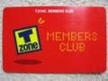 「T-ZONE MEMBERS CLUB」card