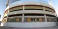 防音壁で仕切られた旧広島市民球場