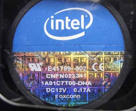 「Core i7 i7-870」付属クーラーファン スペック