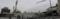 """広島市中区基町""""旧広島市民球場""""解体現場"""
