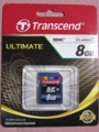 [Transcend]SDHC card 8GB Class10 TS8GSDHC10
