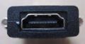 [玄人志向]「DVI-HDMI2」HDMIコネクター部分外観