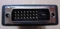 [玄人志向]「DVI-HDMI2」DVIコネクター部分外観