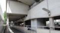 広島バスセンター西自転車等駐車場の通路