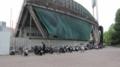 [旧広島市民球場]北側にある自転車とか