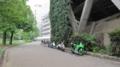 [旧広島市民球場]北側にあるバイクとか