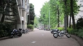 [旧広島市民球場]西側にある自転車とかバイクとか
