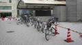 [旧広島市民球場]それでも南側にある自転車とか