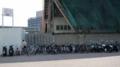 [旧広島市民球場]北側にある自転車とかバイクとか