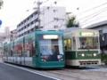 [広島電鉄5000形電車][広島電鉄700形電車]5012編成 / 702号車