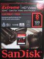 [SanDisk]SDHCカード Class6 SDSDRX3-8192-E21 海外パッケージ