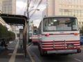 [広島バス]新幹線口バス停と【広島22く29-61】838
