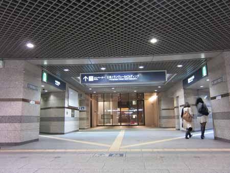 広島トランヴェールビルディング 出入口