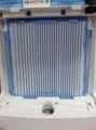 [MCK75LKW]プリーツフィルター取り付け済みの脱臭触媒ユニットを本体へ