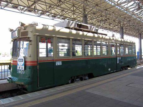 """1909号車""""清水"""""""