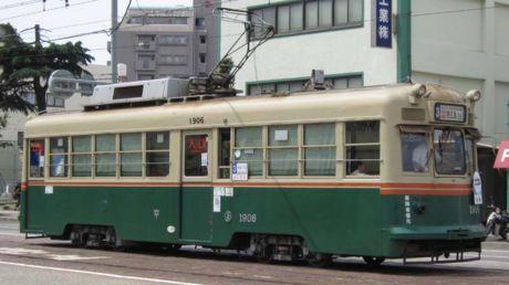 """1906号車""""西陣"""""""
