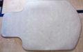 [サンワサプライ]チェアマット カーペットタイプ ベージュ 品番:100-MAT001BG