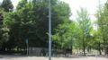 [東千田公園]北側 出入口付近