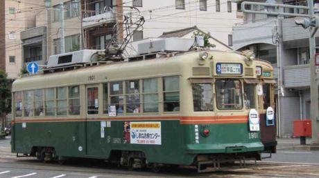 """1901号車""""東山"""""""