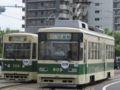 [広島電鉄700形電車][広島電鉄800形電車]705号車 / 809号車