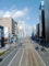 広島市中区 袋町横断歩道橋から北方面を望む