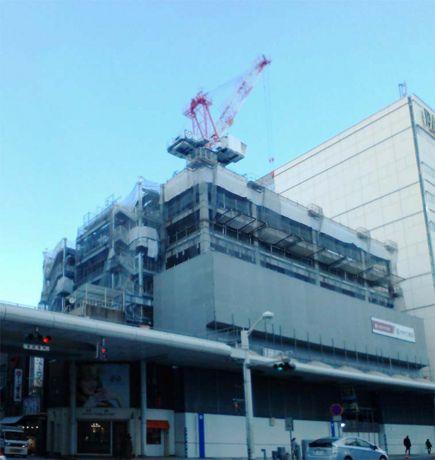広島東宝ビル建設現場