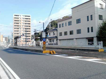 広島電鉄皆実線 比治山下電停