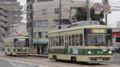 [広島電鉄800形電車]803号車(左) 806号車(右)