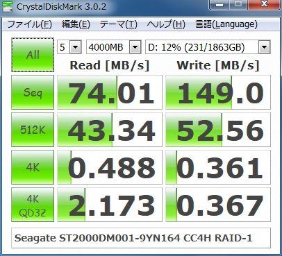 ST2000DM001-9YN164 CC4H RAID-1