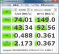 [CrystalDiskMark][Seagate]ST2000DM001-9YN164 CC4H RAID-1