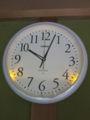 [CASIO]電波アナログ壁掛け時計 IQ-1050NJ-7JF 夜間点灯