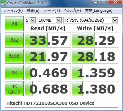 HDT721010SLA360 USB Device
