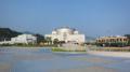 [広島市交通科学館]屋外広場西側から東側を望む