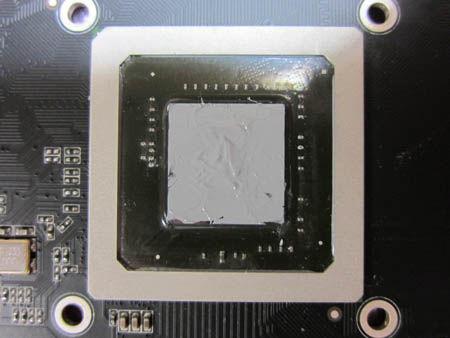 GF9800GT Eco 「MX-4」塗布後