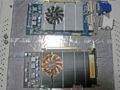 GeForce 9600GT Eco(上) GeForce 9800GT Eco(下)