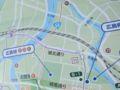 広島市自転車マップ(拡大)