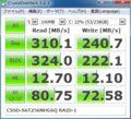 [CrystalDiskMark]CFD販売「CSSD-S6T256NHG6Q」