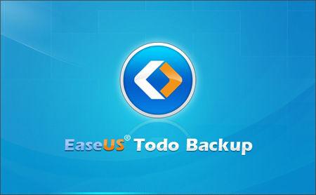 EaseUS Todo Backup 起動画面