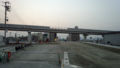 新大洲橋 架橋工事 東側