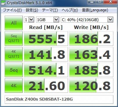 SanDisk Z400s SD8SBAT-128G