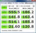 [CrystalDiskMark]SanDisk Z400s SD8SBAT-128G