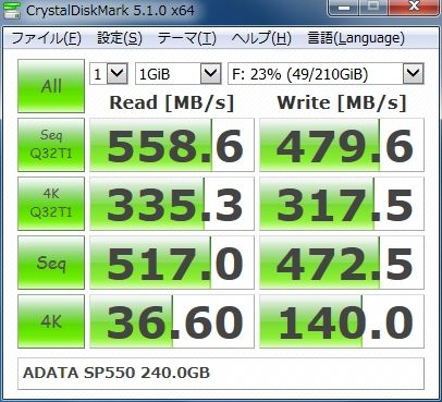 ADATA SP550 240.0GB